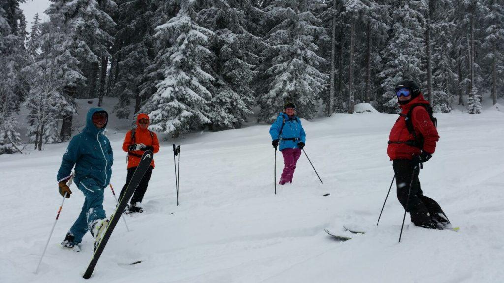 all mountain skiing course meribel