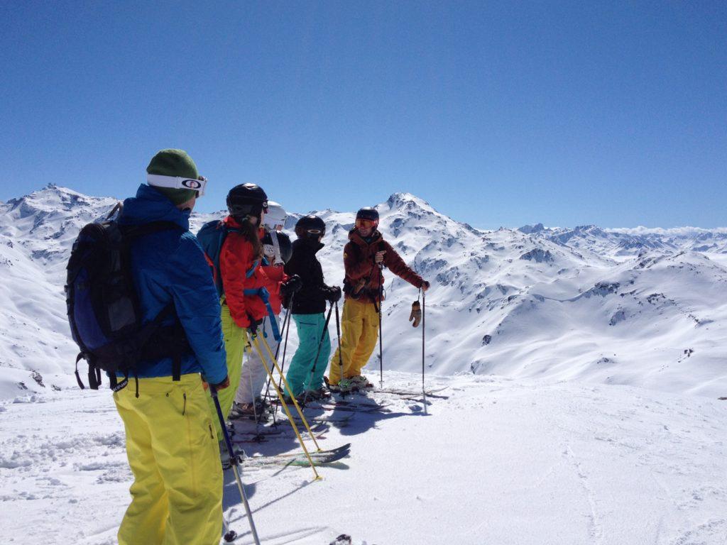 off-piste skiing camps meribel