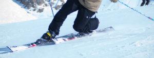Telemark lessons meribel