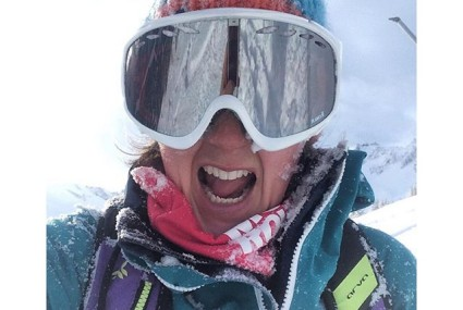 The face of someone enjoying today's conditions!! Definitely #aveczest #meribel #marmalade #les3vallees #goodtimes #forthefew #dropcliffsnotbombs #monssnow #lovinglife - 2016-01-05 15:28:32