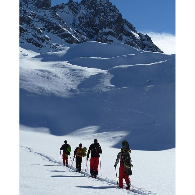 Off-piste guiding Meribel, ski touring, skiing, teaching, instructing