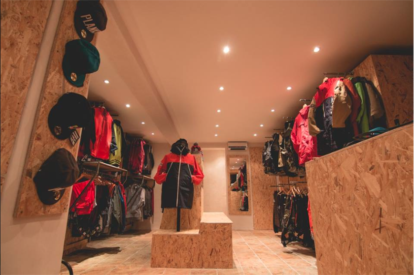 planks clothing meribel shop