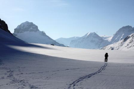 ski touring tips meribel and 3 valleys