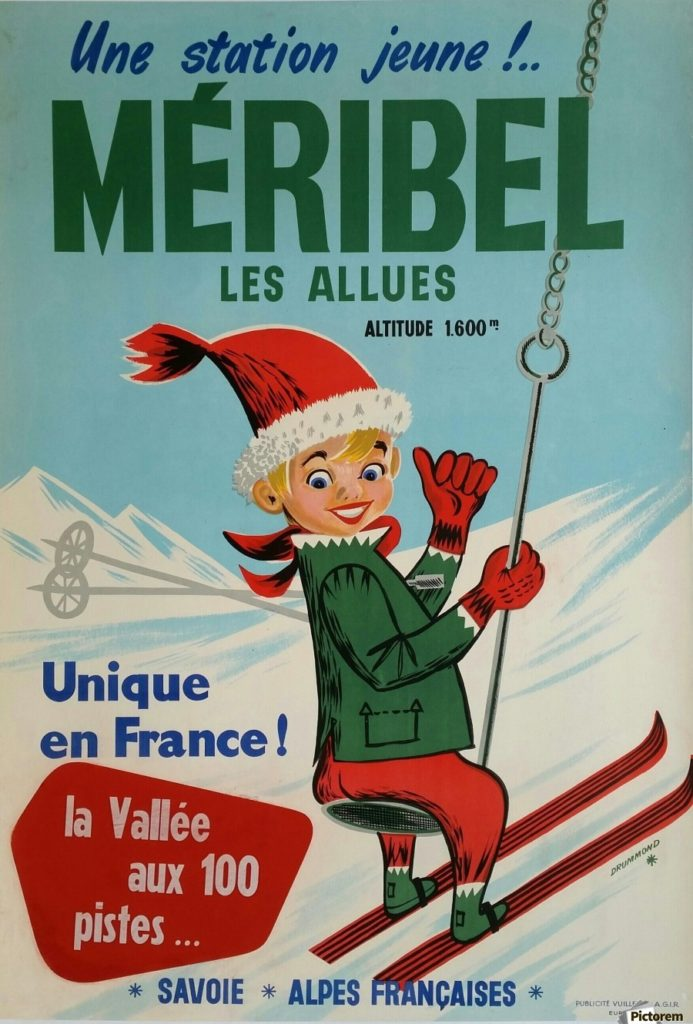 New developments in Meribel valley