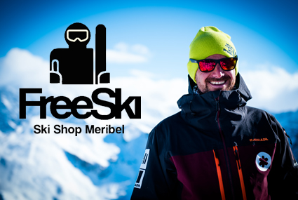 meribel ski rental freeski