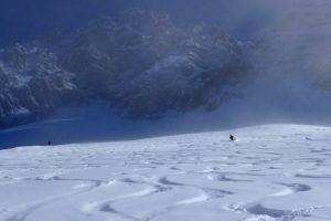 off-piste skiing meribel