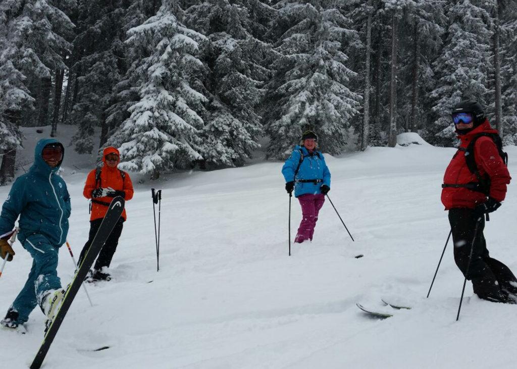 pre season skiing meribel