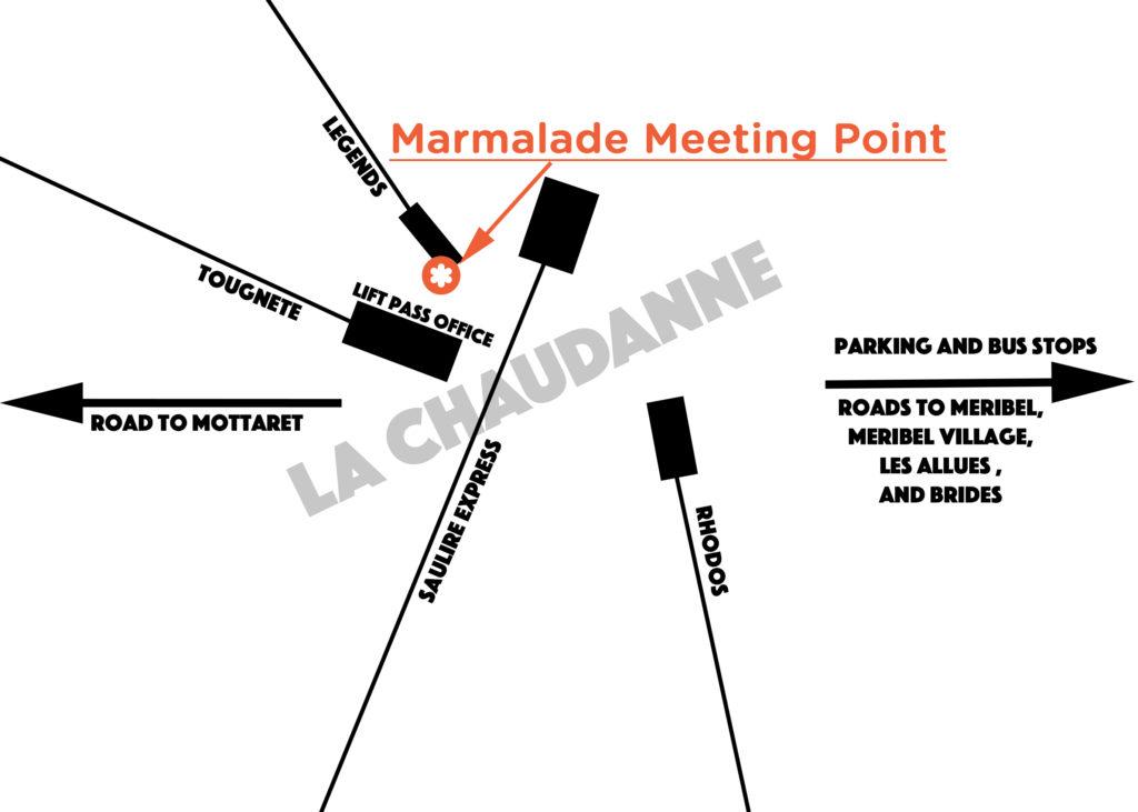 Marmalade's Meribel Meeting Point